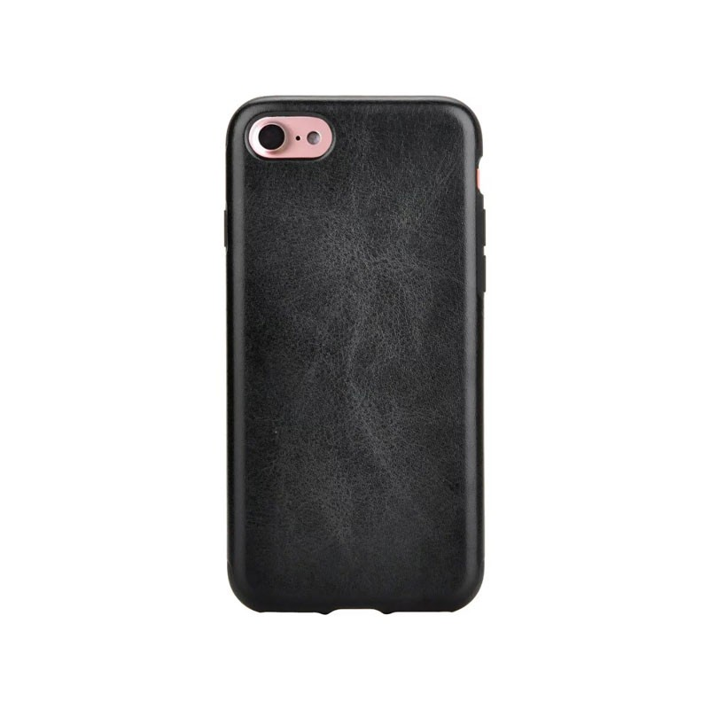 Factory Low Price PU leather skin cell phone case for iPhone7 7 plus Soft TPU mobile accessories cover for iPhone 7 case 360