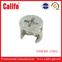 C301L-Wooden cam connectors/Furniture hardware fittings