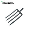 garden tool digging hand forks Rail steel fork head for wholesales