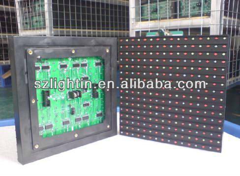 led billboards p10 p12 p16 p20 p25 screen LIGHTIN p25 led module with control card