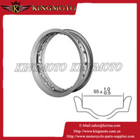 KM-16012203AY OEM quality MT-1.85 double welded motorcycle steel wheel rim