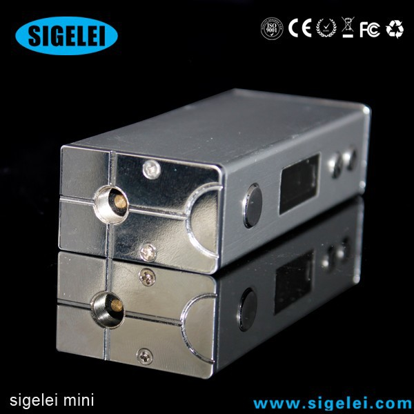 E cigarette variable voltage wattage sigelei box mod sigelei mini 30w fresh choice electric cigarette machin