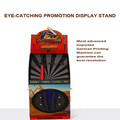Hot Sale Cardboard Paper Standing Display Unit For Stickball, Recreational Facilities Dump Bin Display
