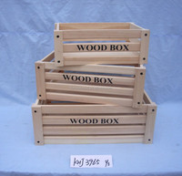 China handmade wooden slatted crate for fruit