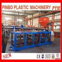 Factory direct sale waste bottles pet plastic recycling machine