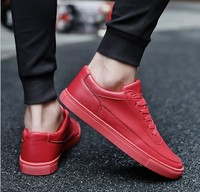X83781B 2018 new arrival man sneakers cheap wholesale pu leather men sport shoes