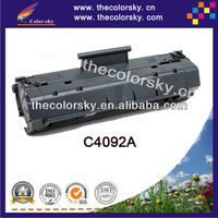 (CS-H4092A) BK compatible toner printer cartridge for hp C4092A C 4092A 92A 120 1100 1100A 1110 3100 3150 3200 3200M 3200SE