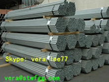 "5.8m 1-1/4"" Sch40 galvanized seamless carbon steel pipes"