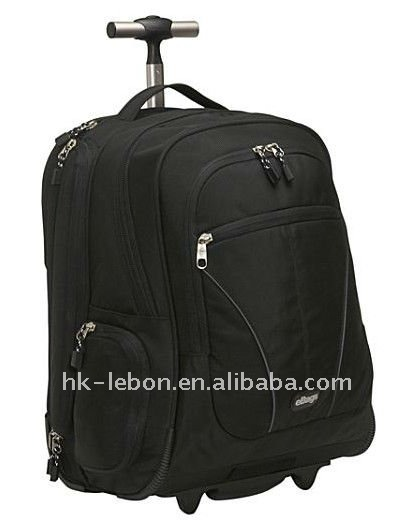 Fashion Hotsale Durable Wheeled Laptop travel sport backpack