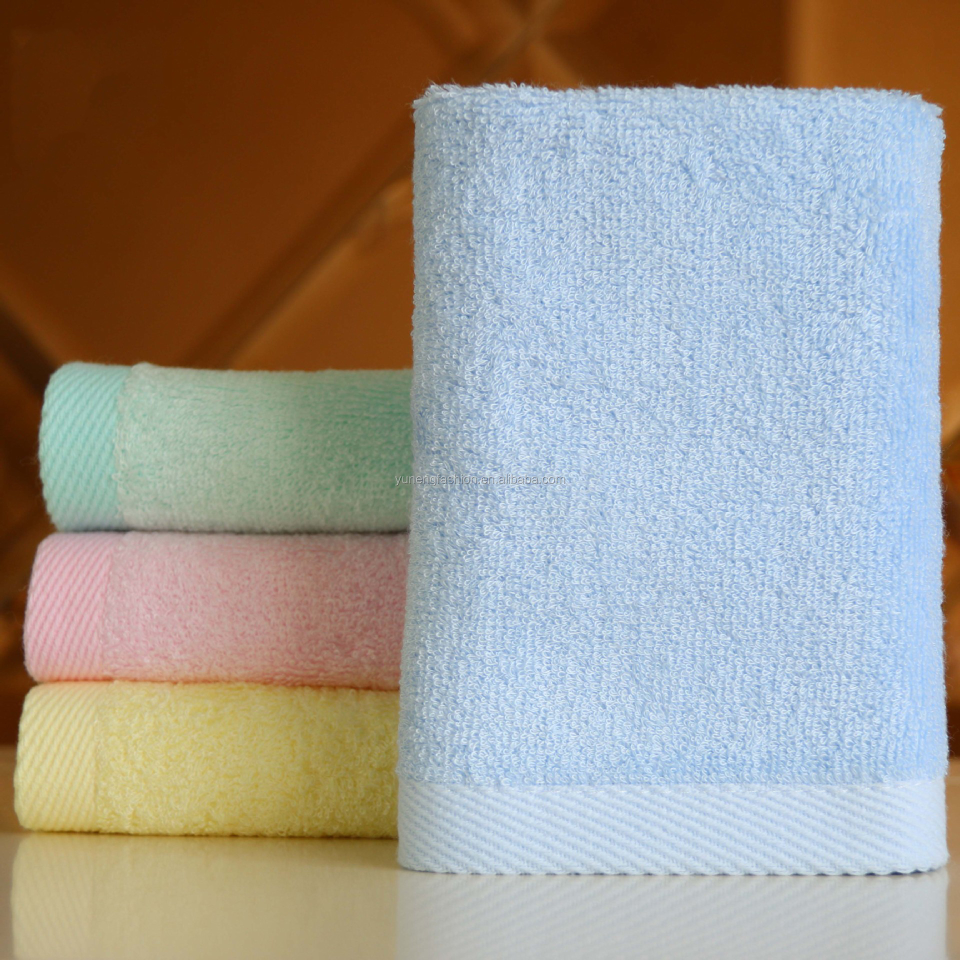 China towel factory supply 100% Bamboo Fiber Baby Towel promotion bamboo towel