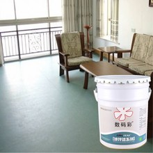China brand Digital Self-leveling metallic epoxy resin industrial flooring paint