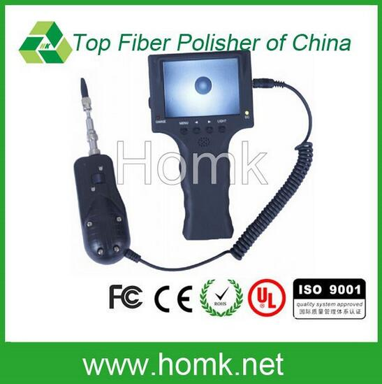 Fiber inspection microscope 400X Portable 12v DC With light weight