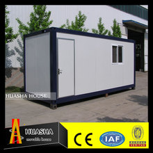 Steel frame prefabricated house with sandwich wall panels design