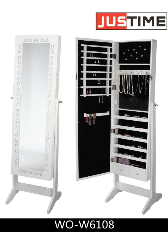 Boden schmuck spiegelschrank schlafzimmer schrank vitrine - Spiegelschrank schlafzimmer ...