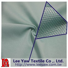 polyester spandex oxford P/D pique fabric with permanent wicking