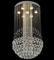 50cm k9 crystal ball lamp best selling dinning room hanging light China factory price