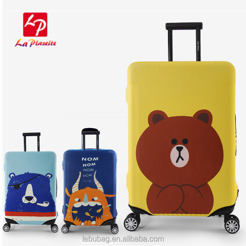 Wholesale elastic spandex protective neoprene luggage cover
