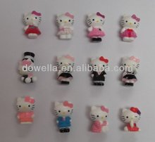 3D Catoon figures/Action figures for kids/Cute Hello Kitty toys