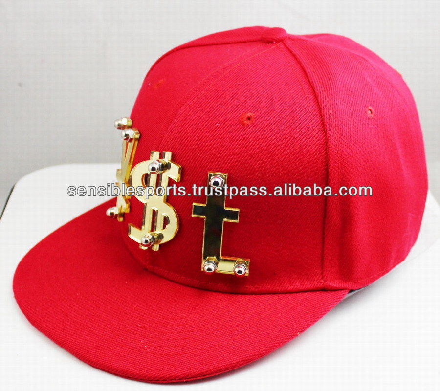 Twill customize cap embroidery designs