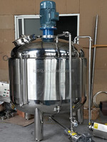 Heating stainless steel shampoo mixing tank