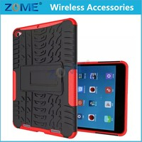China For Pad2 Heavy duty Defender Armor Cover 2 In 1 Hard Kit Stand Case For XiaoMi Pad2 Shockproof Cases With Stand