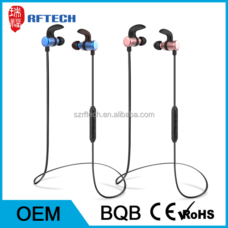 CE Certified sport bluetooth headphone,motorcycle bluetooth headset for half helmet