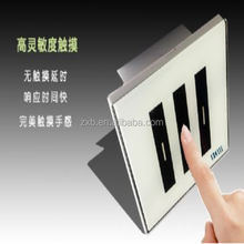 High Quality 3 Gang Smart Home Touch Screen Light Switch Wall Switch