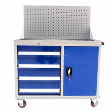 RYWL Heavy Duty Mobile Chest Small Metal Tool Box With Wheels
