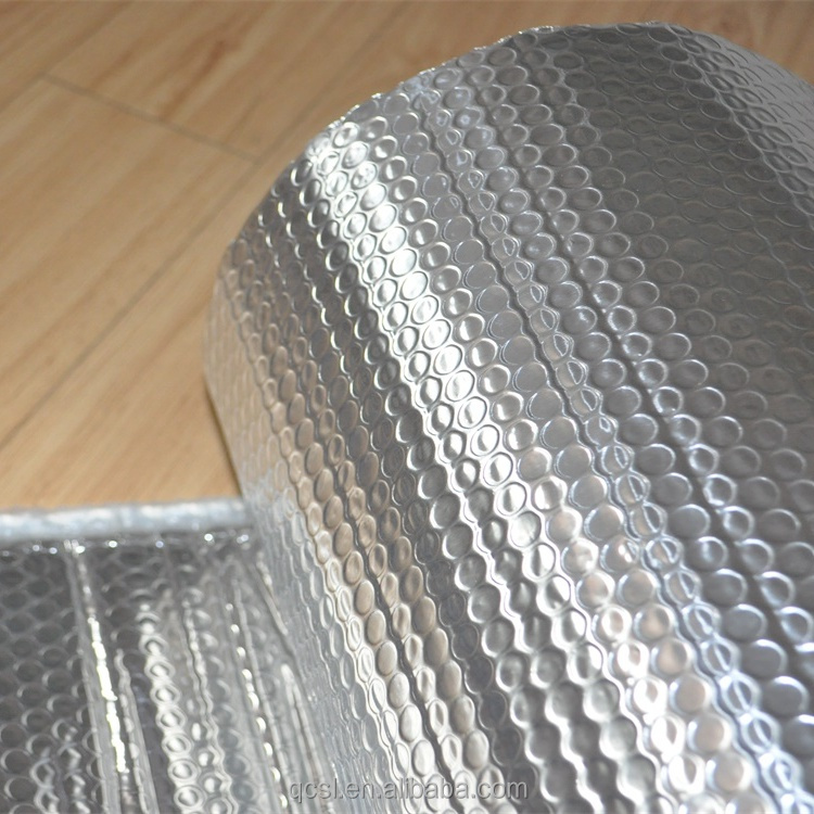 Fireproof insulation rolls aluminum foil air bubble for metal building materials