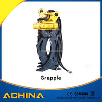 High Quality Wear-resistance Material manual and hydraulic heavy duty five fingers grapple