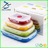 collapsible silicone food containers, heat resistant food container for food warm