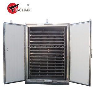 high quality Industrial square herbs vacuum drying oven with tray