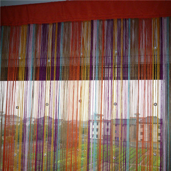 108 inch crystal bead curtain for living room