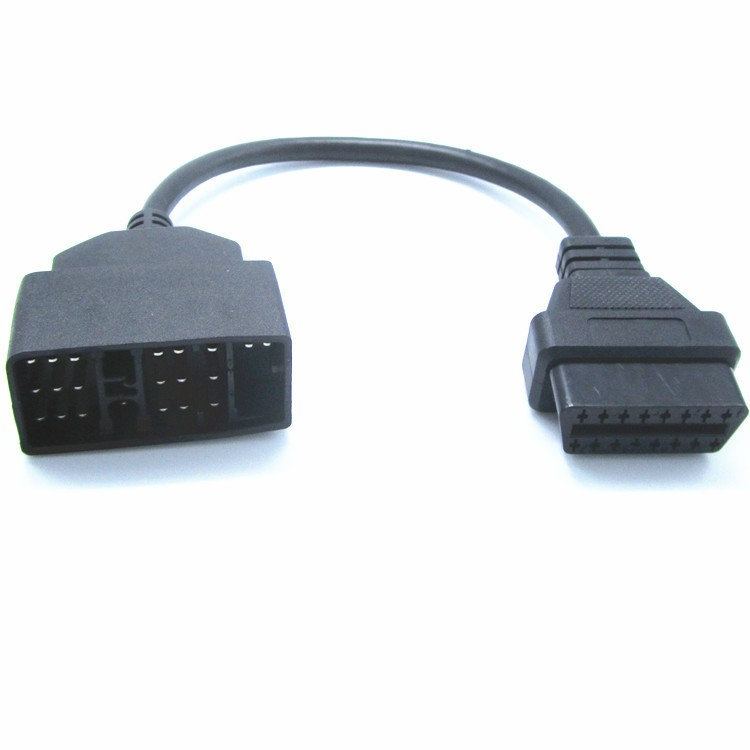 For Toyota 22 Pin to 16 Pin OBD OBD2 Adapter Cable lead diagnostic interface 22pin OBDII extension cable