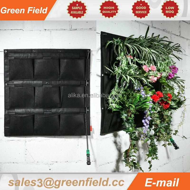 Verticale tuin druppelirrigatie systemen tuinmuur for Verticale tuin systeem