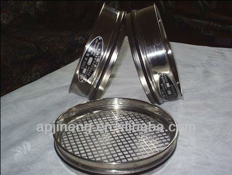 stainless steel sample sieve