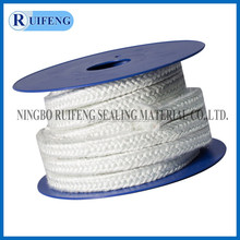 Fiber glass braid gland packing for keeping warm and insulating heat