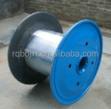 bobbin reel metal cable spool steel cable drum for tension cable 500mm