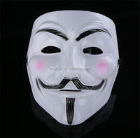 V For Vendetta Anonymous Guy Fawkes The Mask Halloween Cosplay Masks