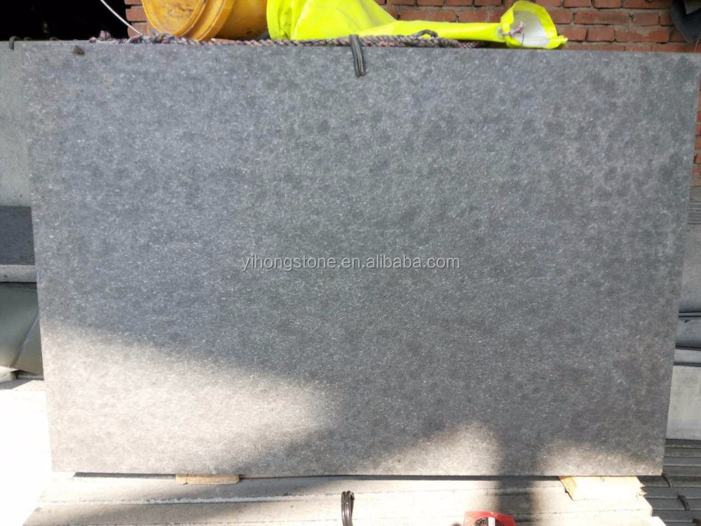 China G684 granite slabs black pearl granite flamed tile with cheap price