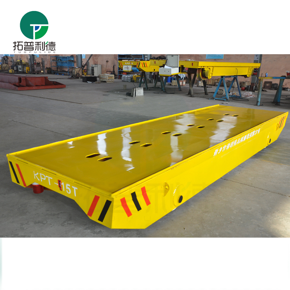 customized mobile cable power four wheel roll trailer with low bed