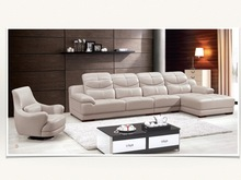 High Quality Modern Italy Genuine or Rexine Leather PU Living Room Sofa Foshan Special offer 5% off discount Ref.A182