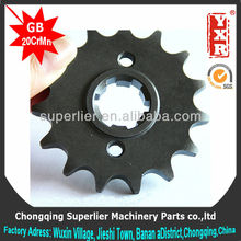 Professional produce motorcycle sprockets and gear,Passion for honda sprocket,420 and 428 harden sprocket wheel
