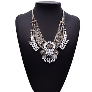 Luxury alloy jewelry wholesale turkey collares de moda