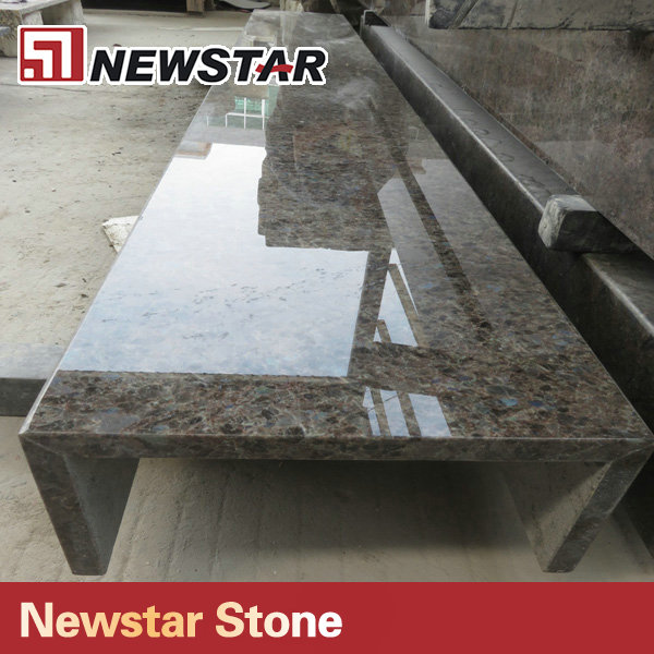 Newstar luxury Labrador Antique prefabricated granite countertop colors