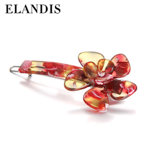 6 different color clovers style of hair fork women hair accessories
