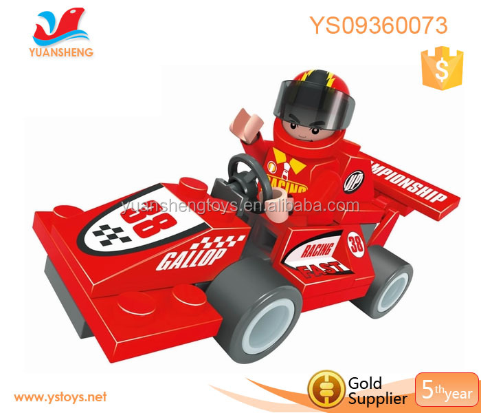 intelligence building blocks toy diy car model shantou for beach game