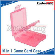 16 in 1 Game Card Box Case Cover for 3DS for NDS Pink