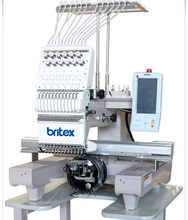 BR-1201J single head 12 stitch computerized embroidery machine