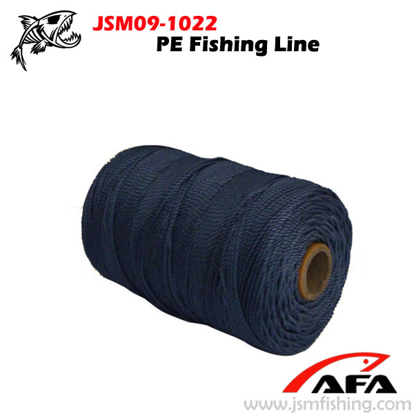 Wholesale navy blue colored pe braided fishing line rope for Colored fishing line